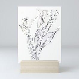 Calla Lily Point Mini Art Print