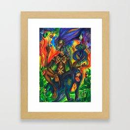 African Goddess Framed Art Print