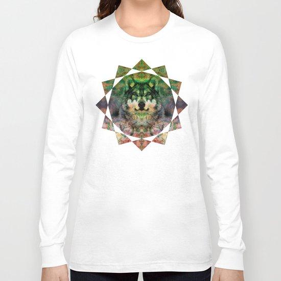 Desert Wolf Long Sleeve T-shirt