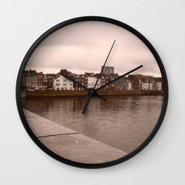 16437 skyline Maas(tricht) Wall Clock