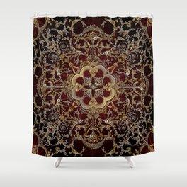 Architectural Mandala 3: Hibernia Bank Shower Curtain
