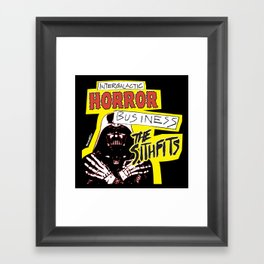 Sithfits - Intergalactic Horror Business Framed Art Print