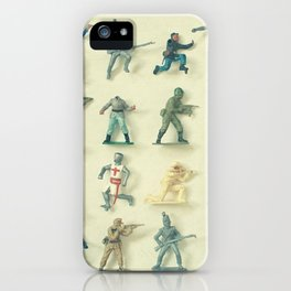 Broken Army iPhone Case