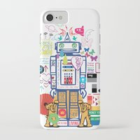 coldplay iPhone & iPod Cases featuring we live in a beautiful world by Giulia De grazi