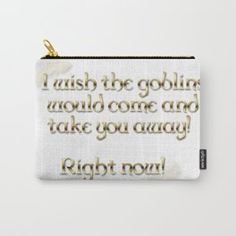 Goblins Take You Away (White) Carry-All Pouch