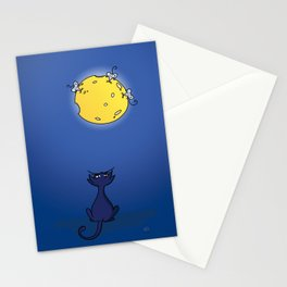 Cheese Moon  Stationery Cards