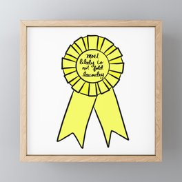 Most Likely To Not Fold Laundry Framed Mini Art Print