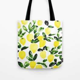 Summer Lemons Tote Bag
