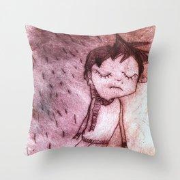 Miguel,  grabado Throw Pillow