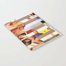 Glitch Pin-Up Redux: Amber Notebook