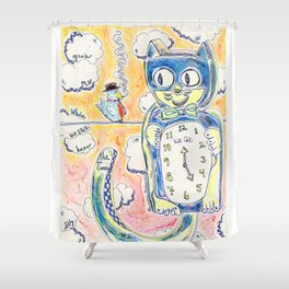 Grab Me While We Still Have The Time Shower Curtain
