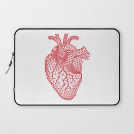 abstract red heart Laptop Sleeve