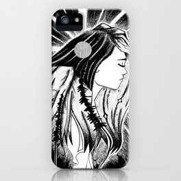Her Soul is Wild iPhone Case