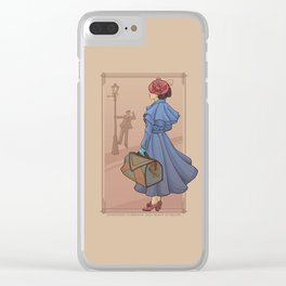 Something's Brewing Clear iPhone Case