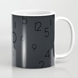 Random clock Coffee Mug
