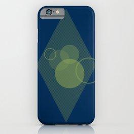 Bokeh Blue iPhone Case