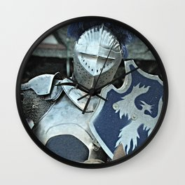 Shining Armor Wall Clock