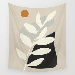 abstract minimal 33 Wall Tapestry
