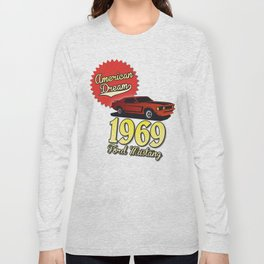Ford Mustang 1969 Long Sleeve T-shirt