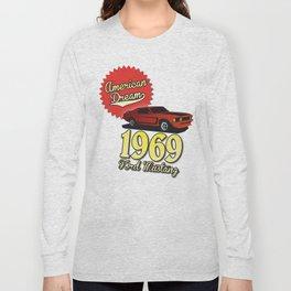 Ford Mustang 1969 Long Sleeve T-shirt