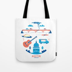 Love Letter to Austin, Texas Tote Bag