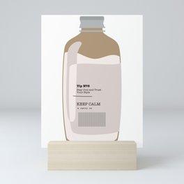 Tip in a Bottle №8 Mini Art Print