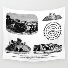 Archaeological Evidences Wall Tapestry
