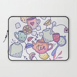 Tea and cookies Laptop Sleeve