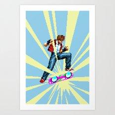 The most epic kickflip Art Print