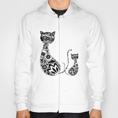 Cats Of Inversion - Digital Work Hoody