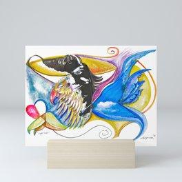 Eagle Heart Mini Art Print