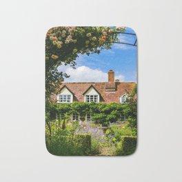 Cottage garden. v2 Bath Mat