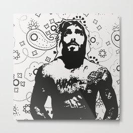 Jesus Piece #1 Metal Print