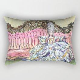 Rococo Woman  Rectangular Pillow