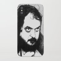 kubrick iPhone & iPod Cases featuring Stanley Kubrick by Daniel Point