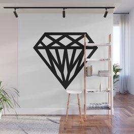 Diamond Wall Mural