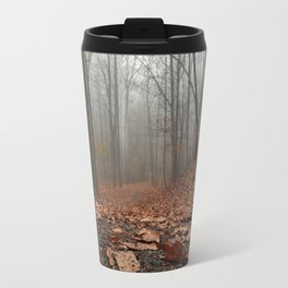 Foggy Trail. Travel Mug