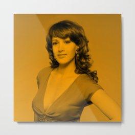 Jennifer Beals - Celebrity Metal Print