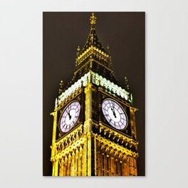 Big Ben in HDR Canvas Print