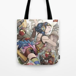 Dance for the extinct blue jay Tote Bag