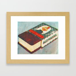 Ice Cream Sandwich Litho  Framed Art Print