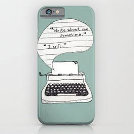 PERKS OF BEING A WALLFLOWER. iPhone Case
