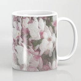Magnolia Blooms in the Rain Coffee Mug