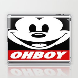 Oh Boy! Laptop & iPad Skin
