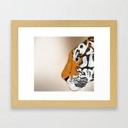 Tiger Profile Framed Art Print