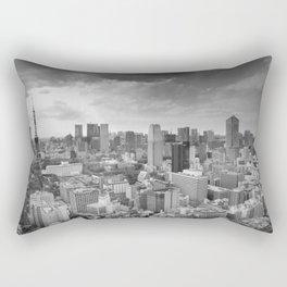Tokyo Skyline Rectangular Pillow
