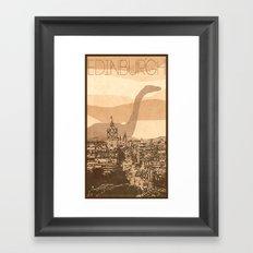 Every City Has Its Creature - Edinburgh  Framed Art Print