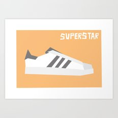 Superstar Minimalist Art Print