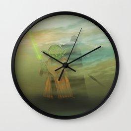Dagobah dark Wall Clock