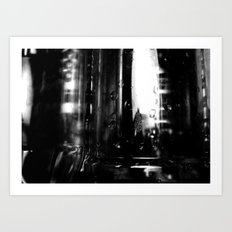 Describe Where You Are _2 Art Print